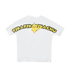 LITLAB皮卡丘联名款BOX短袖情侣款  新款国潮卡通T恤 运动T恤 运动图片