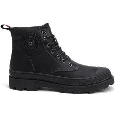 PHI.M 冬季 高帮 工装鞋 潮流马丁靴 运动休闲鞋 防滑 时尚高帮靴图片