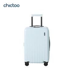 chictoo/chictoo Suite组曲款聚碳酸酯旅行箱CT06002W20D 青年男女 充电款亮面20寸图片