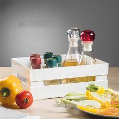 意大利进口复古收纳盒   利快guzzini叠加组合果蔬调料收纳筐    多功能通风防潮厨房置物架图片