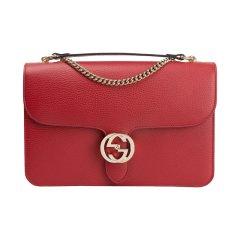 【包税】Gucci古驰女包双G扣单肩斜挎翻盖包袋 510303图片