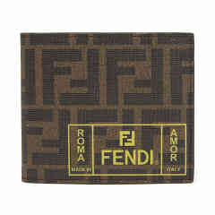 FENDI/芬迪 19秋冬 男士织物(涂层除外)双折钱包7M0169  DX图片