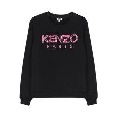 【包税】KENZO/高田贤三  女士大logo套头圆领卫衣 PF962SW707962图片