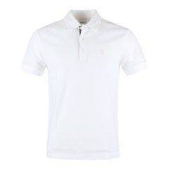 BURBERRY/博柏利  专属标识图案珠地网眼布棉质男士短袖Polo/T恤 8014003-E19F图片