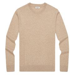 HAZZYS/哈吉斯2019年秋季新款羊绒衫时尚简约男士针织衫/毛衣ABYZD08DD25图片