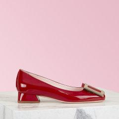 2019年秋冬新品RogerVivier/罗杰·维维亚 女士平底鞋 漆皮鞋面 Très Vivier 芭蕾舞鞋图片