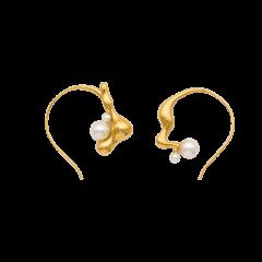 【O.YANG/O.YANG】珍珠不对称耳环个性施华洛世奇高级耳钉百搭设计感耳坠网红珍珠不对称耳环个性施华洛世奇高级耳钉百搭设计感耳坠网红图片