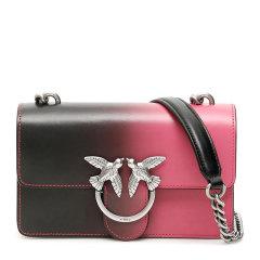Pinko/品高 Mini Love系列 女士时尚黑色Shade经典单肩包斜挎包链条包燕子包女包 1P21GA-Y5UWZN1图片