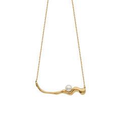 【O.YANG/O.YANG】设计感项链女珍珠锁骨链简约小众设计气质欧美轻奢送女友图片