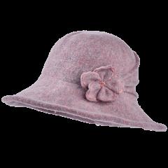 卡蒙全羊毛女式帽子冬季礼帽英伦保暖盆帽可折叠毛呢帽顺女大檐帽图片