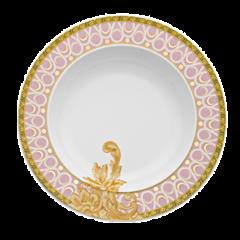 Rosenthal Meets Versace范思哲粉色拜占庭浪漫婚礼餐具图片