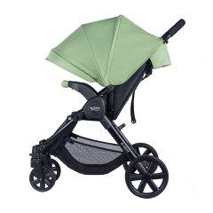 Britax/宝得适 B-nest欢行 轻便可折叠四轮避震婴儿推车 可躺坐舒适高景观 0-17kg宝宝使用 樱草黄图片