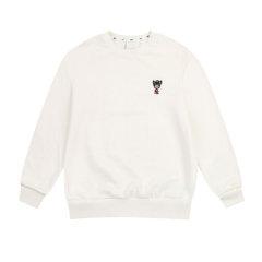 MLB长袖T恤 新款秋冬刺绣小狗标长袖T恤男女同款宽松韩版卫衣图片