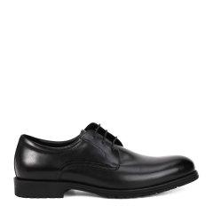 ELLE HOMME/ELLE HOMME 黑色牛皮系带男士商务鞋-男士商务正装鞋图片