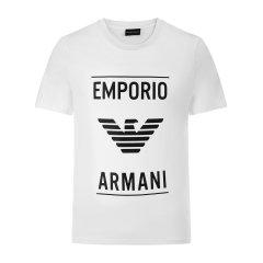 EmporioArmani/安普里奥阿玛尼男士短袖T恤-男士T恤面:棉图片