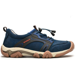 PHI.M 男鞋 时尚 新款 户外鞋 真皮 徒步鞋 登山鞋 运动休闲鞋 防滑 透气鞋子图片
