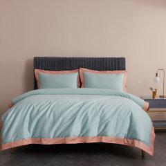 GeleiStory/GeleiStory长绒棉系列 60支长绒棉小清新四件套被罩床罩被单枕套4件套 换季特惠 店铺特惠图片