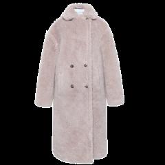 【19秋冬】OZLANA AU/OZLANA AU 女士大衣 泰迪服皮草大衣193001图片