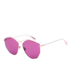 DIOR/迪奥太阳镜女士多边形交叉超轻金属墨镜沈梦辰明星同款眼镜Stellaire4图片