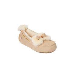 【19秋冬】DK UGG/DK UGG  平跟鞋 219莫卡辛彩色羊毛豆豆鞋图片