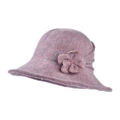 Kenmont/卡蒙2019秋冬新品全羊毛女式帽子冬季礼帽英伦保暖盆帽可折叠毛呢帽顺女大檐帽图片