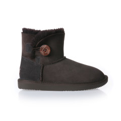 【19秋冬】DK UGG/DK UGG  女士雪地靴 003防泼水单木扣迷你基础款雪地靴图片