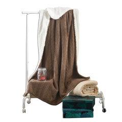 MY SIDE 包边全棉加绒毯 秋冬绒毯 保暖盖毯 床上用品毯子图片