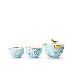 Miracle Dynasty/玛戈隆特 行云系列一壶两杯便携旅行茶具 功夫茶具套装家用茶具图片
