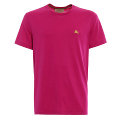 BURBERRY/博柏利 经典款男士纯色棉质圆领短袖T恤 39296331图片