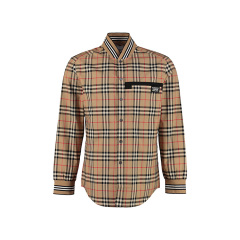 博柏利/BURBERRY 19年秋冬 时尚 男性 男士长袖衬衫 8017302图片