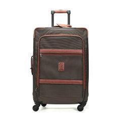 【国内现货】Longchamp/珑骧 男女中性BOXFORD系列织物中号滚轮式手提拉杆箱行李箱1470 080图片