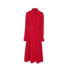 MAGYANN/MAGYANN2019秋冬时装周设计师原创极简衬衣女士连衣裙图片