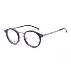 196春夏新品HUGO BOSS/雨果博斯眼镜架男女款全框复古圆形圆框近视镜框架1056图片