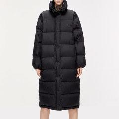 MO&Co./摩安珂女士羽绒服2019秋季新品中长款印花立领羽绒外套MAI3EIN007图片
