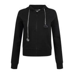 Love Moschino/Love Moschino  女士服装棉质休闲连帽短款长袖卫衣 W634601 0B922图片