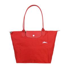 Longchamp/珑骧   LE PLIAGE CLUB系列女士纪念款大号折叠长柄饺子包单肩手提包 1899 619 C87图片
