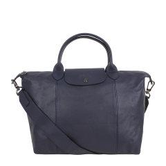 Longchamp/珑骧  女士短柄中号Le Pliage Cuir小羊皮手提包饺子包单肩斜挎包可折叠 1515 757 556图片