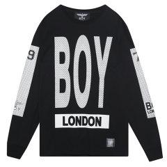 【特惠】BOY LONDON 韩版 男女同款 时尚潮流 休闲打底  运动长袖T恤 韩国直邮 B61TS01U图片