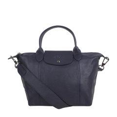 Longchamp/珑骧  女士短柄小号Le Pliage Cuir小羊皮手提单肩包饺子包可折叠 1512 757 556图片