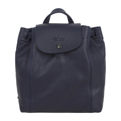 Longchamp/珑骧LePliageCuir女士系列羊皮手提背包迷你双肩包1306737556红色图片