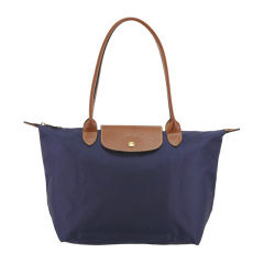 Longchamp/珑骧  女士尼龙新款中号多色长柄饺子包购物手提包 MS08-L2605089556图片