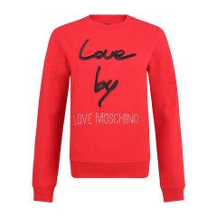 Love Moschino/Love Moschino  女士服装时尚休闲圆领长袖字母卫衣 W630208 0B922图片