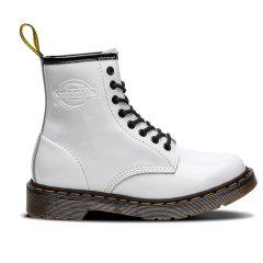 Dickies女2019马丁靴亮皮欧美风秋冬时尚复古工装靴子学生短靴女194W50LXS6F图片