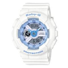 CASIO/卡西欧手表G-SHOCK/BABY-G系列运动款防水炫彩女表时尚腕表 BA-110RG-7A图片