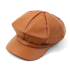 [19秋冬]UNCHEMISTRY/UNCHEMISTRY Leather系列韩版男女同款报童帽图片