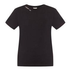 SAINT LAURENT PARIS/圣罗兰  女装 服饰 棉质字母印花装饰时尚休闲圆领女士短袖T恤图片