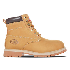 Dickies英伦风马丁靴秋季男靴子真皮踢不烂大黄靴工装靴女款短靴174M50LXS26图片