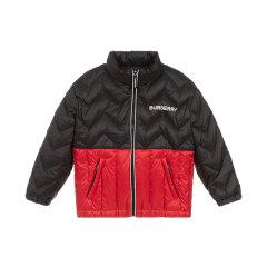 19秋冬 BURBERRY/博柏利 男女童接拼聚酯纤维羽绒外套图片