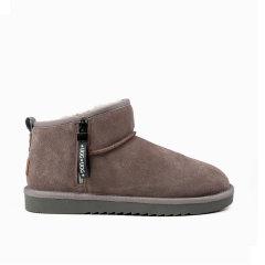 【19秋冬】Ozwear ugg/Ozwear ugg  男士雪地靴  461 基础款皮毛一体拉链短款雪地靴图片