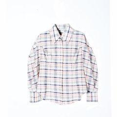 Extremology/Extremology 2019秋冬 小格子优雅长袖衬衫 女士长袖衬衫(L码7-15天发货)图片